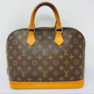 Authentic Louis Vuitton Alma Satchel